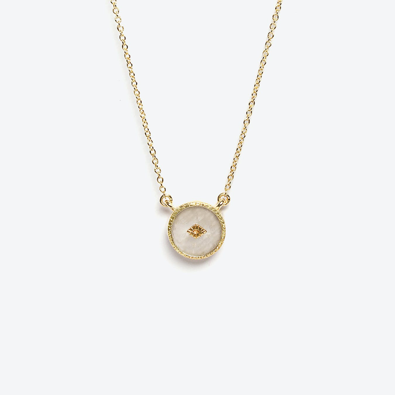 Sanja Necklace - Moonstone