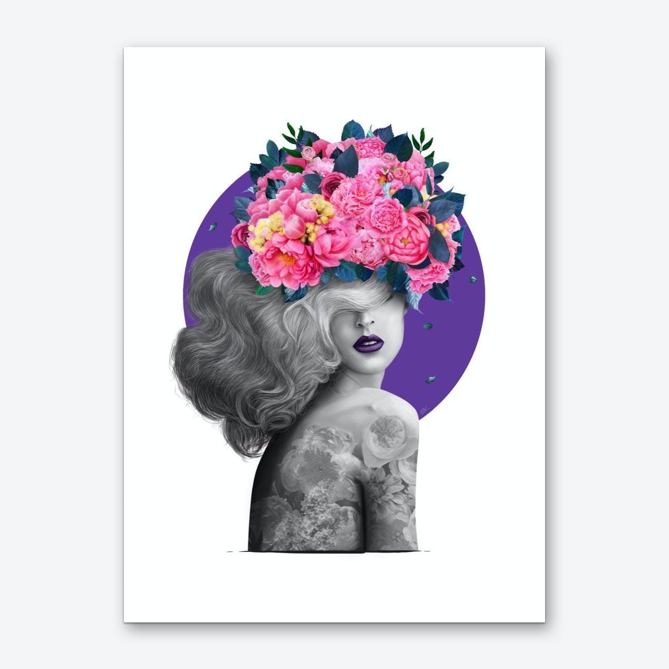 Ultraviolet Dreams Art Print