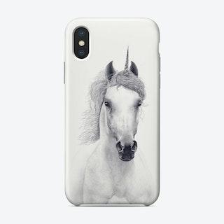 White Unicorn Phone Case