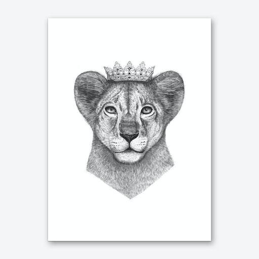 The Lion Prince Art Print