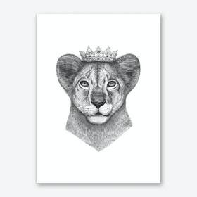 The Lion Prince Art Print