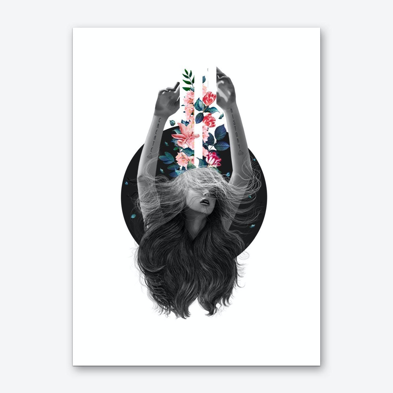 Blooming Imagination Art Print