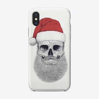 Santa Skull Phone Case
