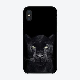 Black Panther on Black Phone Case