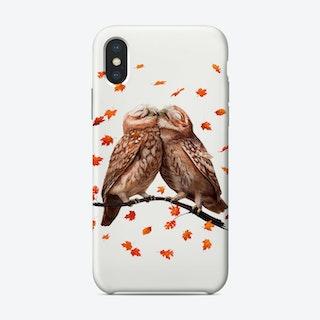 Autumn Owls Phone Case