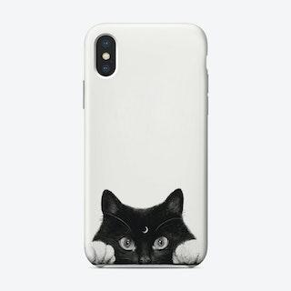 Night Cat Phone Case