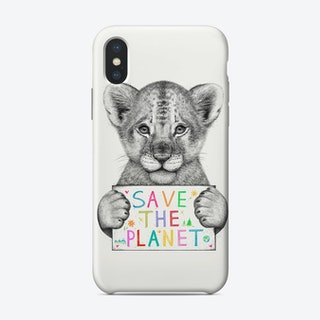 Save The Planet Phone Case