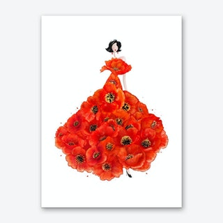 Fashion Poppies Art Print