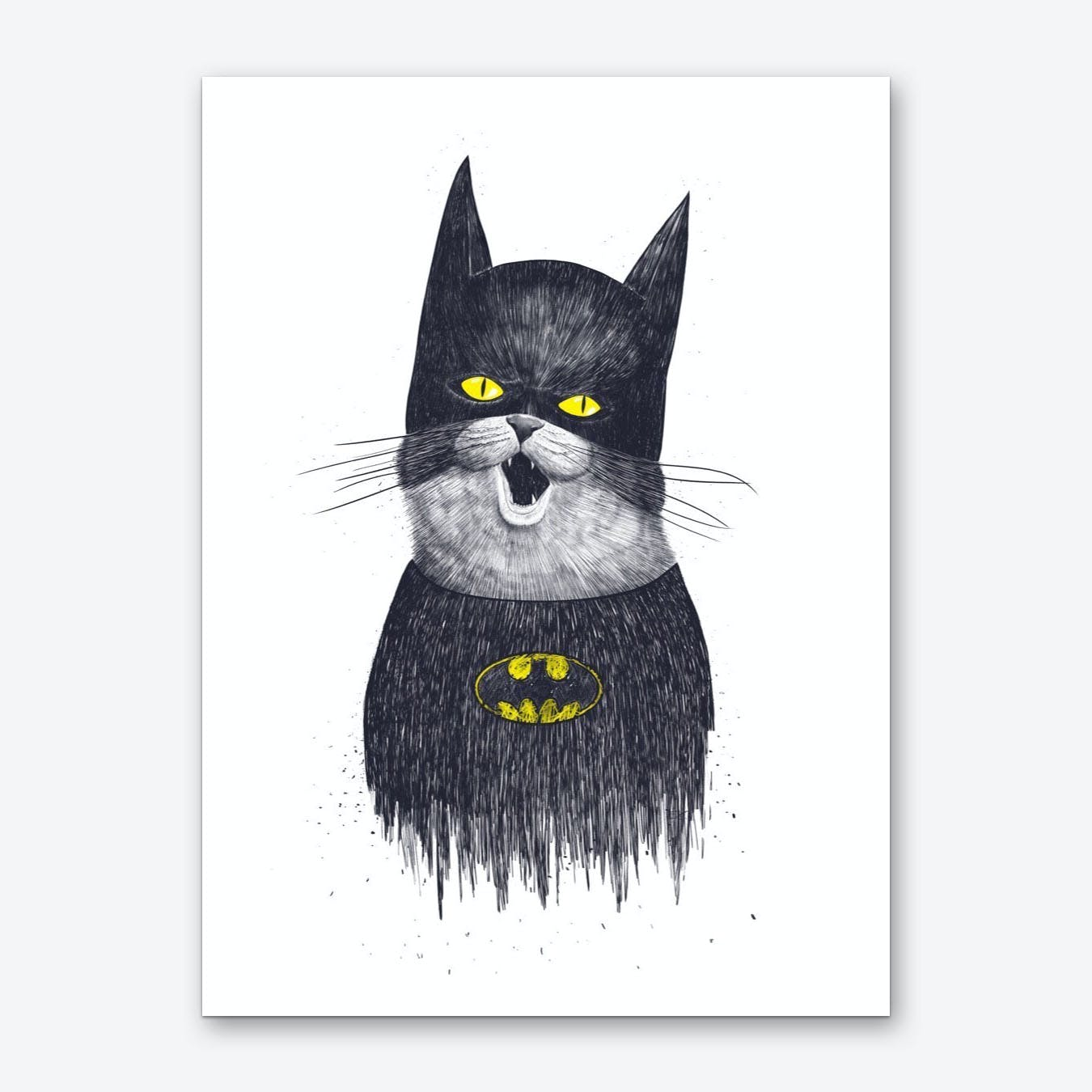 Super Cat Art Print