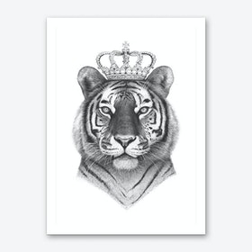 The Tiger King Art Print
