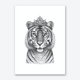 The Tigress Queen Art Print