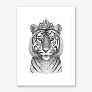 The Tigress Queen Art Print