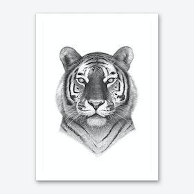 The Tiger Art Print