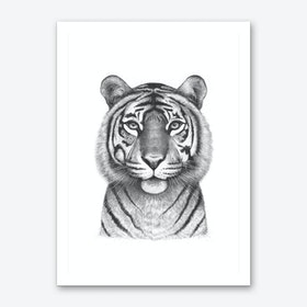 The Tigress Art Print