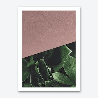 Botanic Rose Art Print