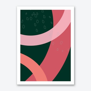 Tete Art Print
