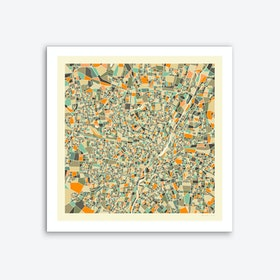 Munich Map Art Print
