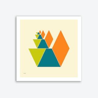 Cubes 2 Art Print