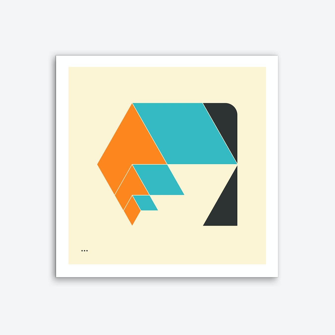 Cubes 5 Art Print