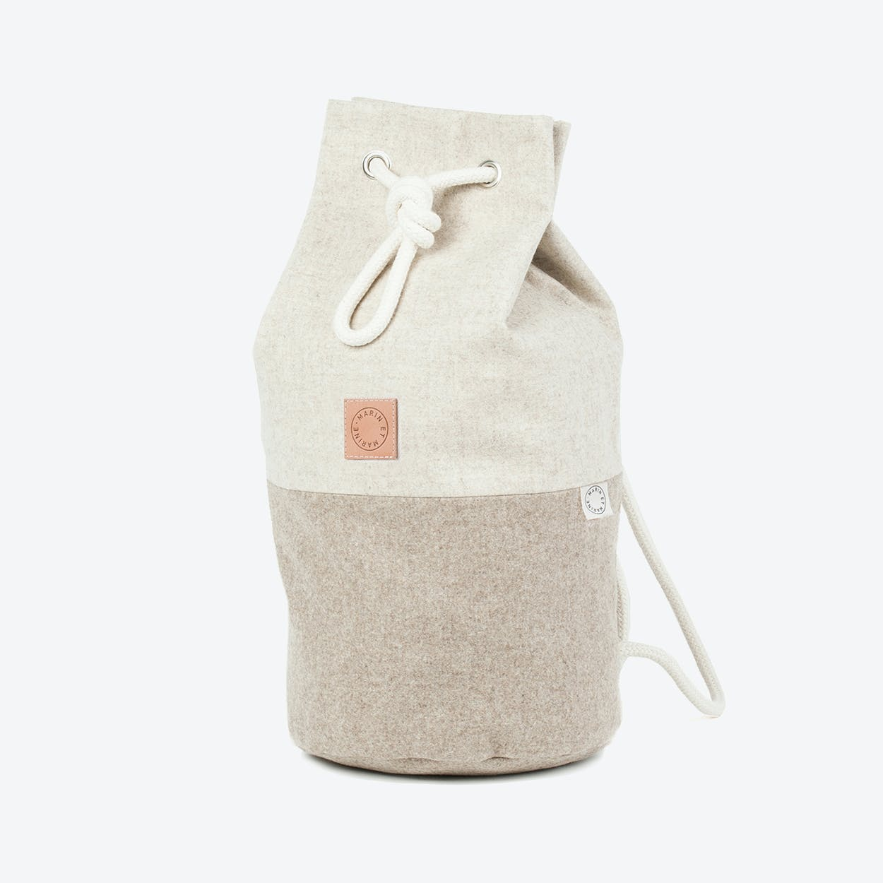 Sac Marin Wool Sand Classic
