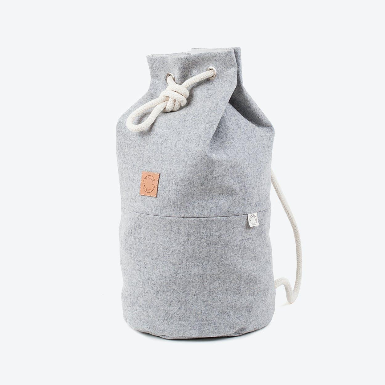 Sac Marin Wool Classic Stone Grey