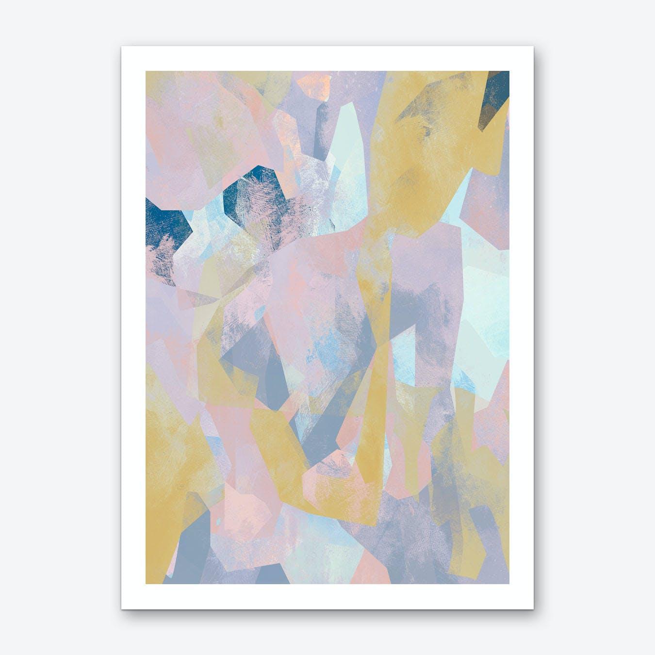 Camouflage XCV Art Print