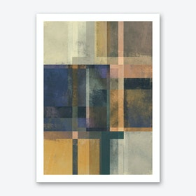 Abstract Geometry No. 19 Art Print