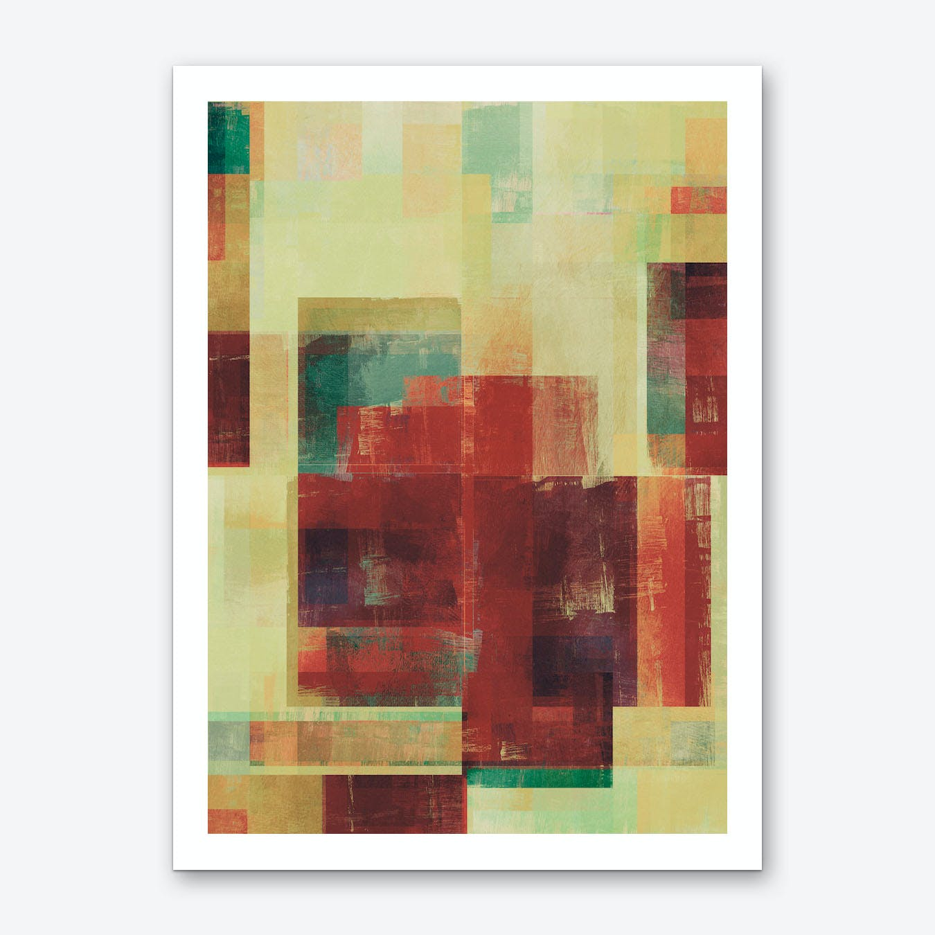 Abstract Geometry No. 21 Art Print