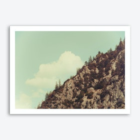 Up the Mountains Art Print