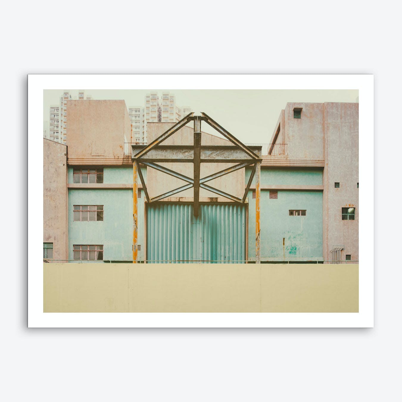 Old Factory Art Print