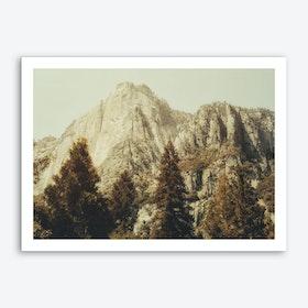 Mountains So High Art Print