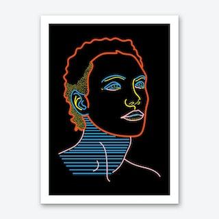 Model Man Art Print