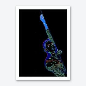 Reach For the Weekend Art Print