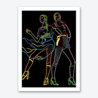 We are Models Art Print
