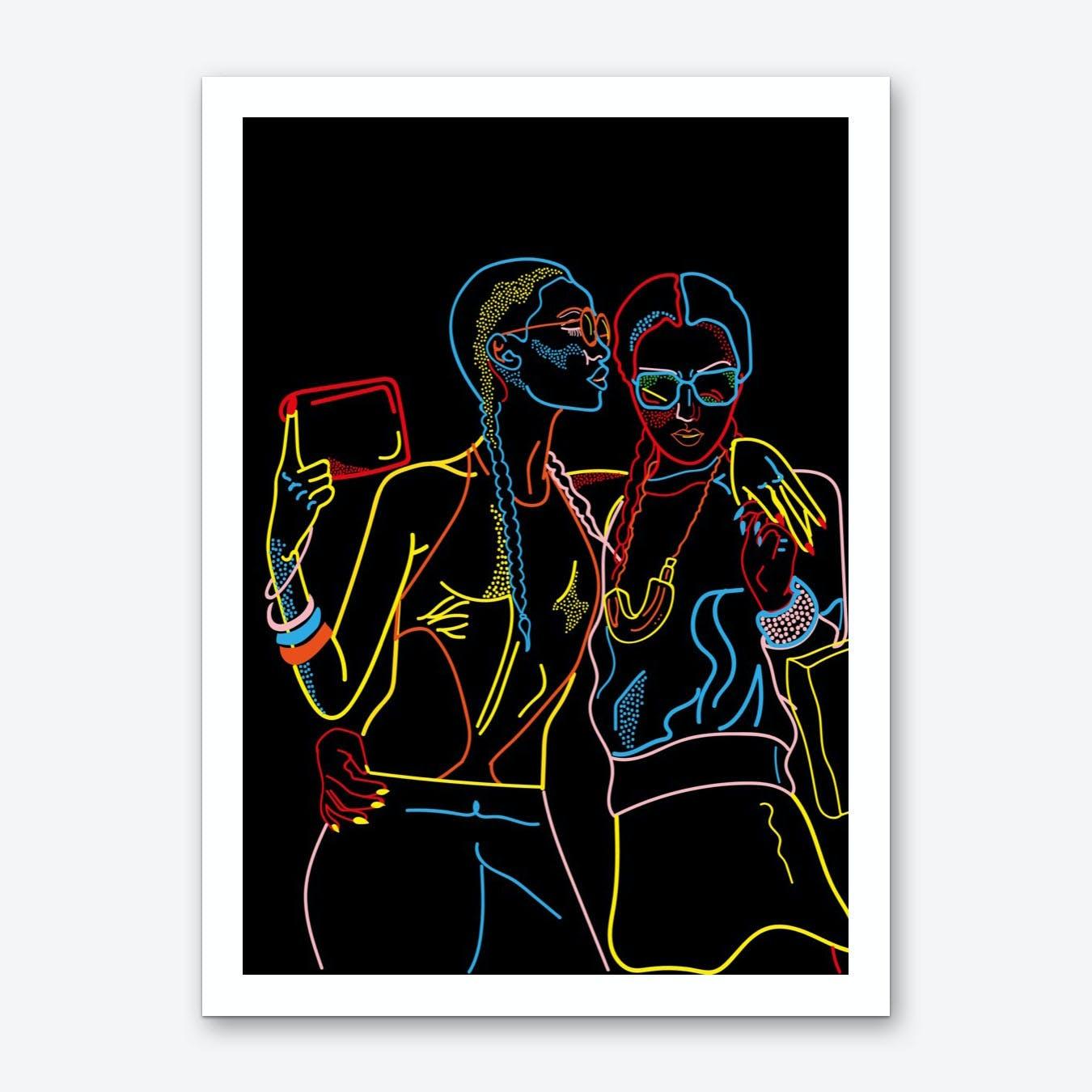 Accesories Yourself Art Print