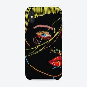 Model Face iPhone Case