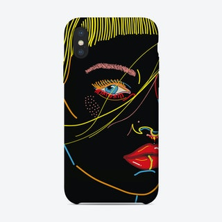 Model Face iPhone Case