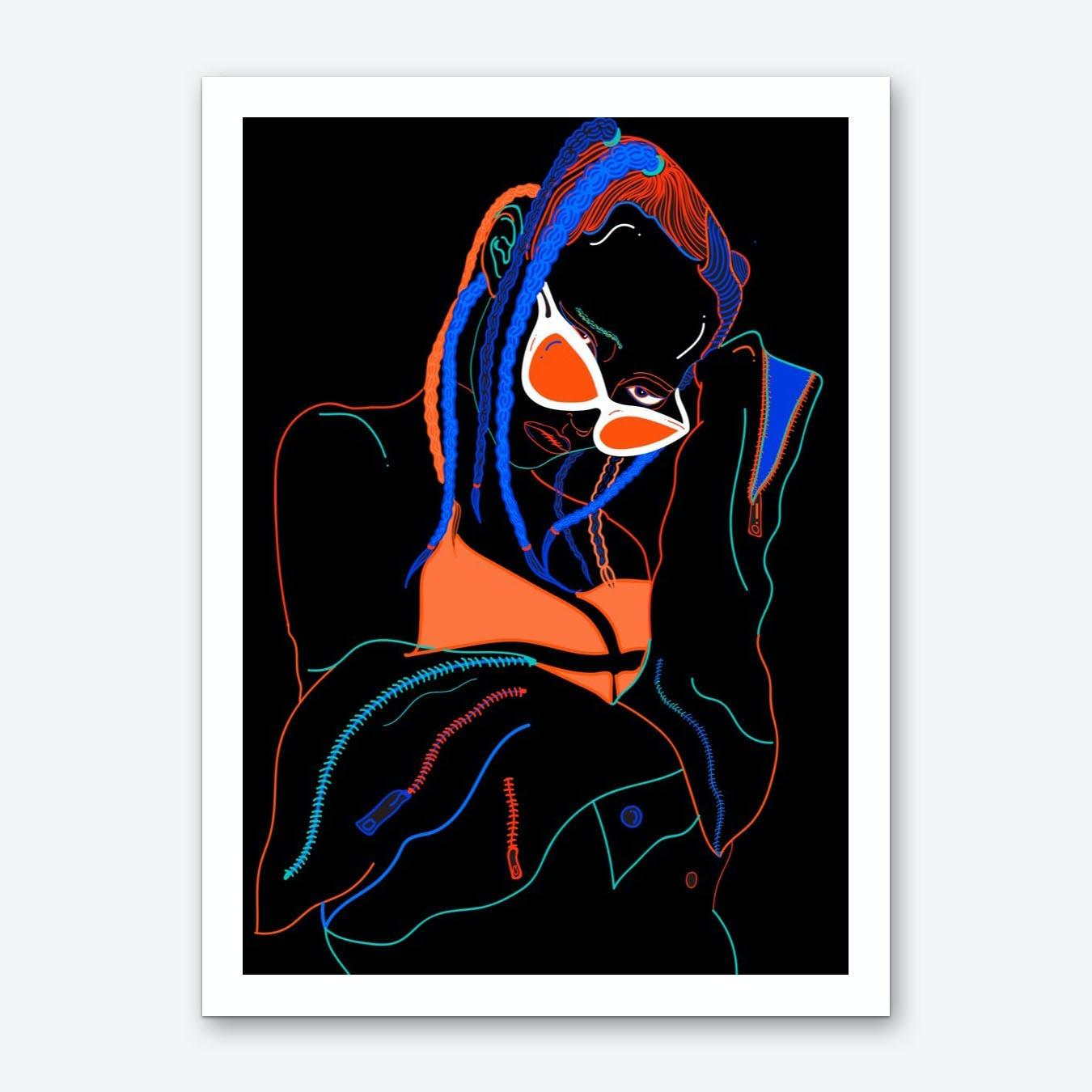 Friday Vibes Art Print
