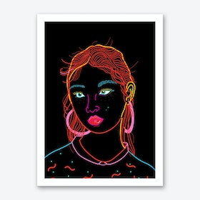 New Girl Art Print