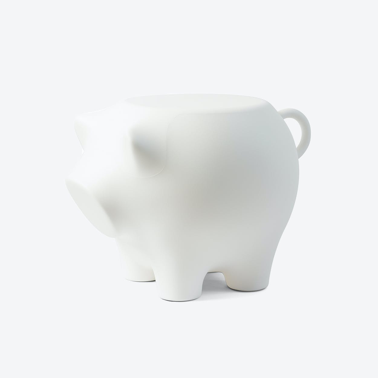 Sidepig in White