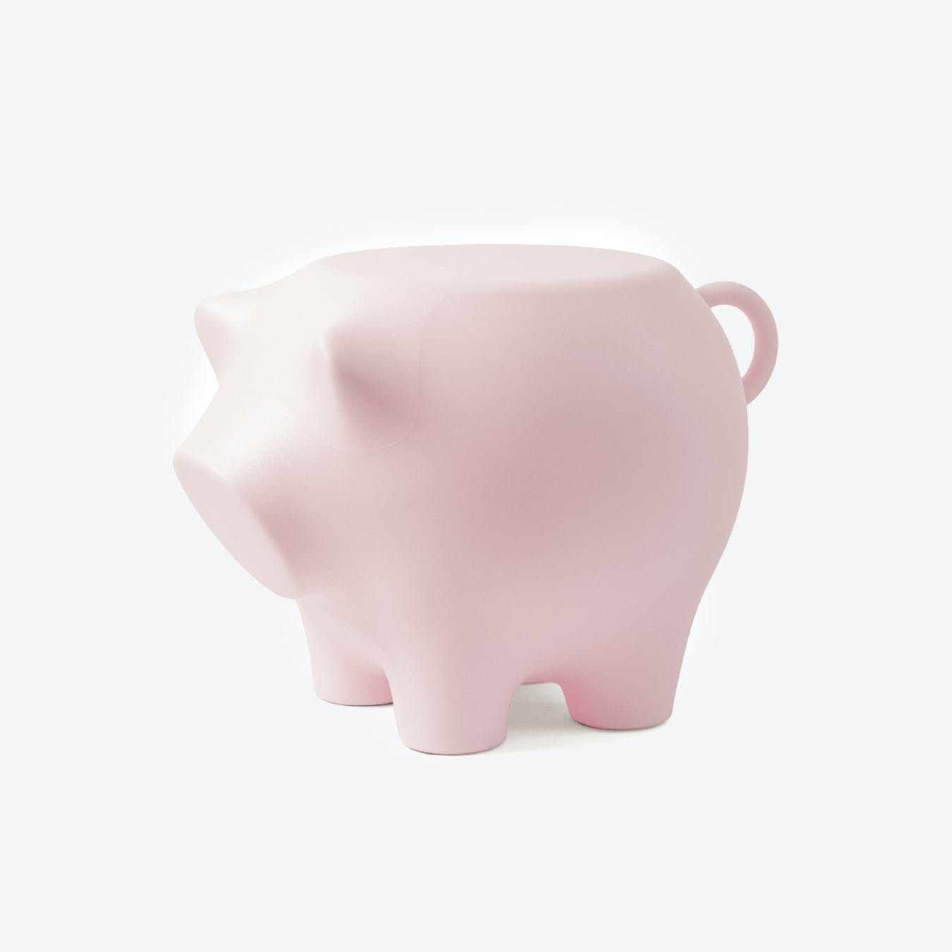 Sidepig in Baby Pink