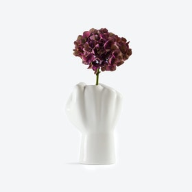 FCK Vase in White