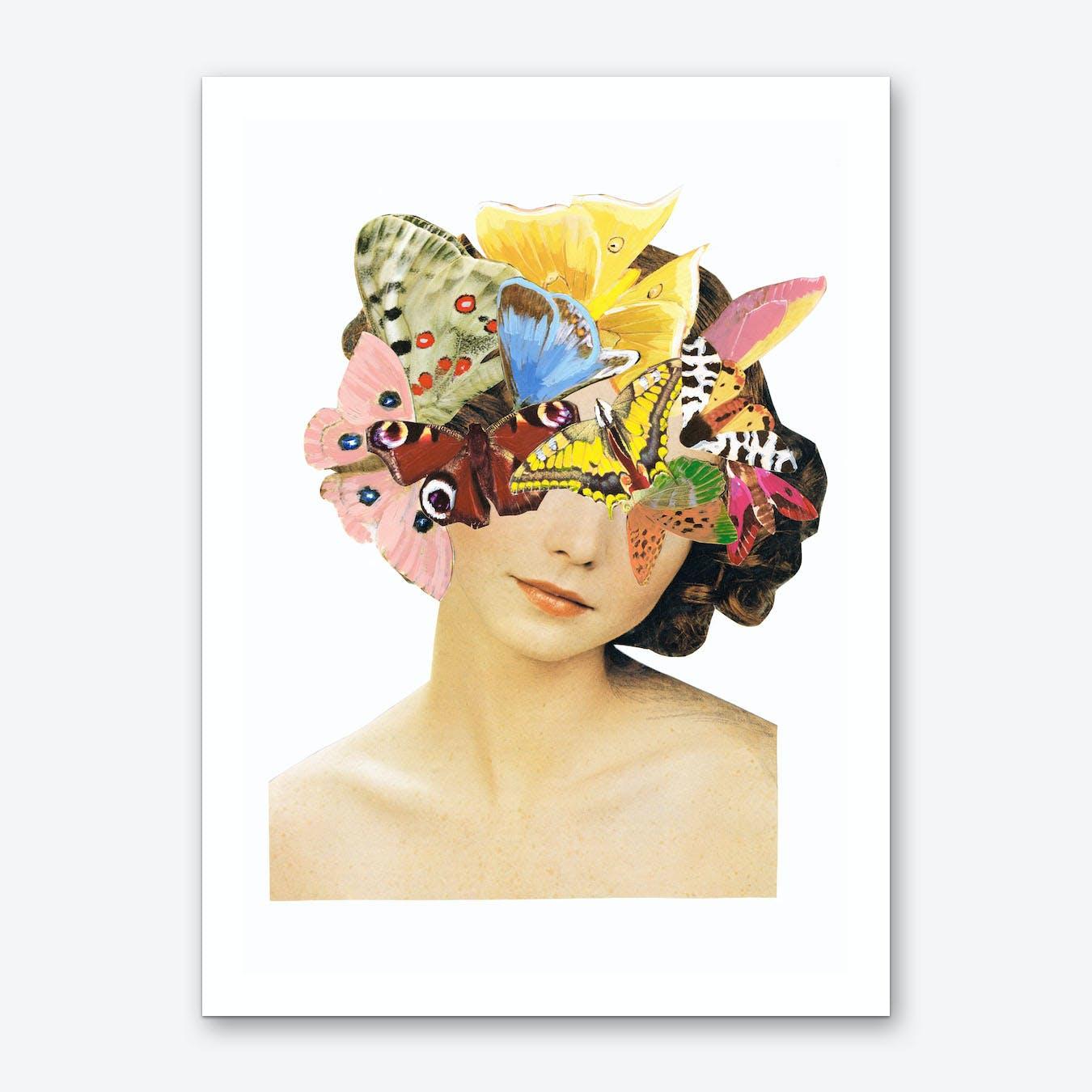 Be Beautiful Butterlies Art Print