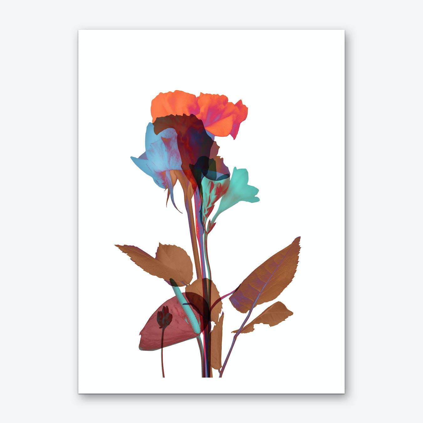 Ode aux Fleurs Art Print