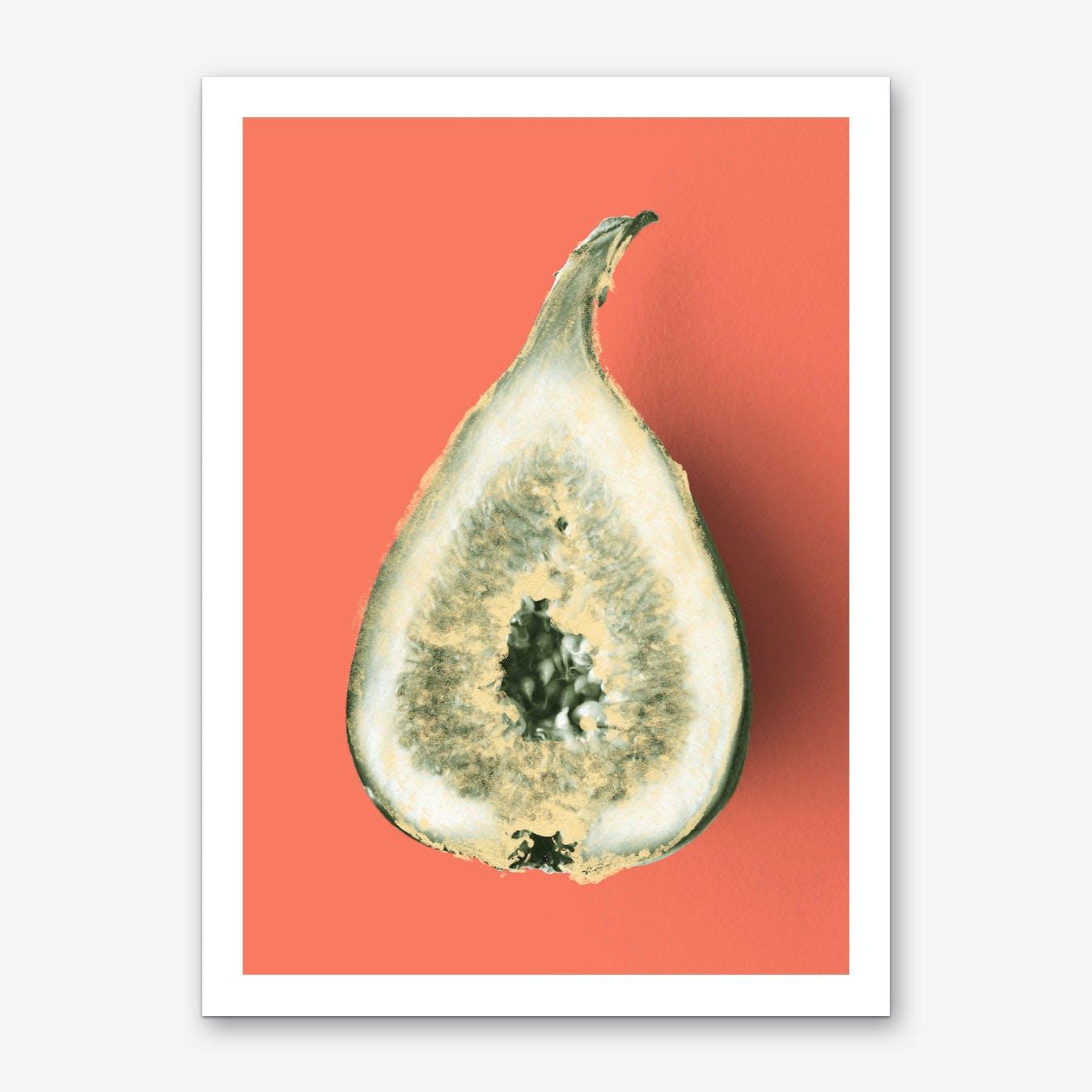 Ode aux Légumes Figue Art Print