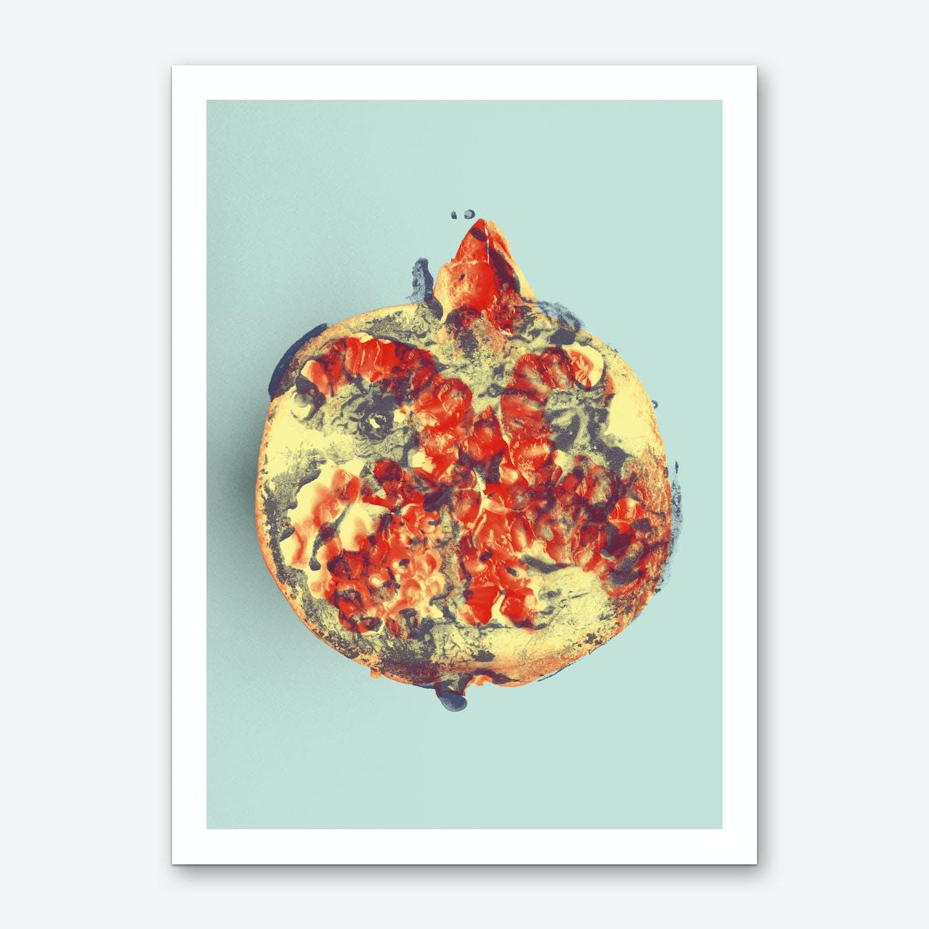 Ode aux Légumes Grenade Art Print