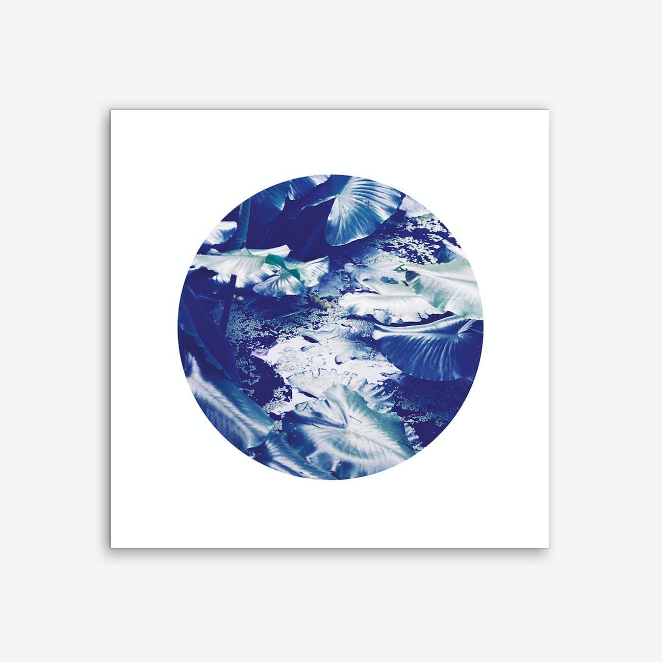 Into the Tropics Blue Art Print