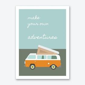 Adventures Sunrise Art Print