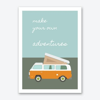 Adventures Sunrise Art Print