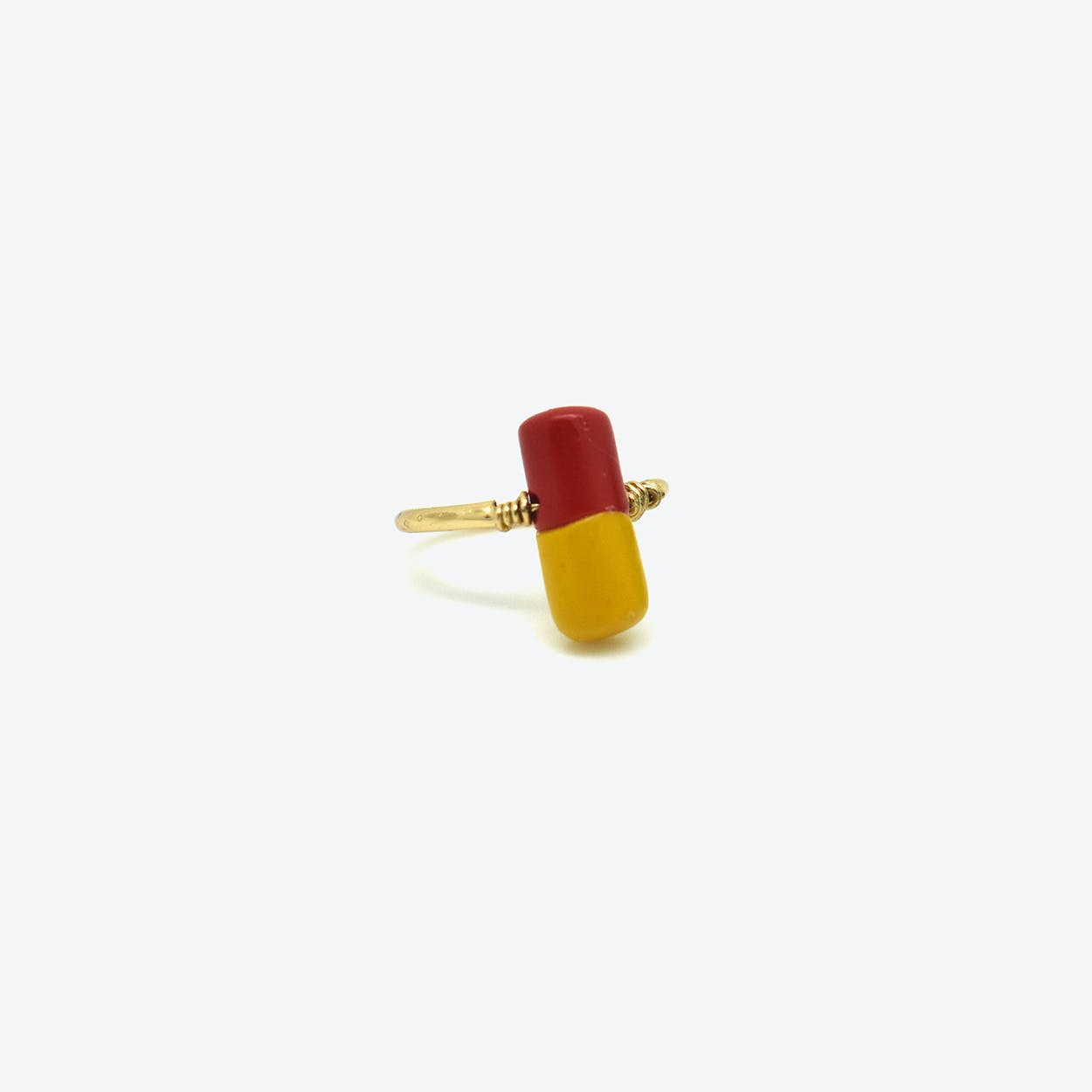 Pain Killer Ring - Red